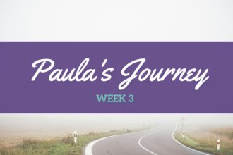 Paula Week 3: Taking my mask off