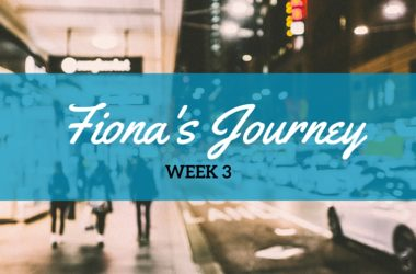 Fiona Week 3 – Progress & Blinding Flash of the Obvious
