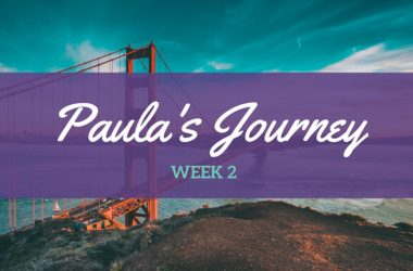 Paula's Journey wk 2 – A whole heap of procrastination