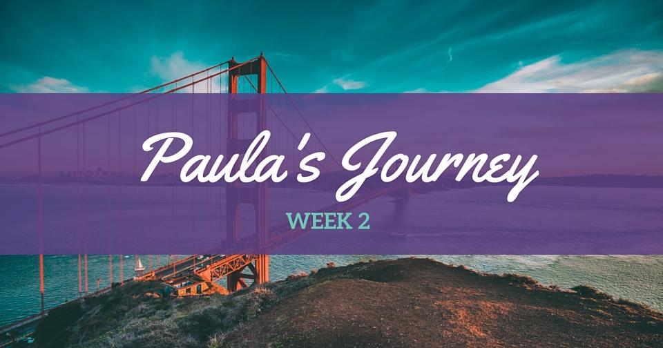 Paula's Journey wk 2 – A whole heap of procrastination