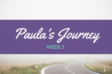 Paula Week 3: Taking my mask off
