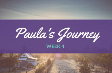 Paula's Journey –  I weigh ??…therefore I am (not)