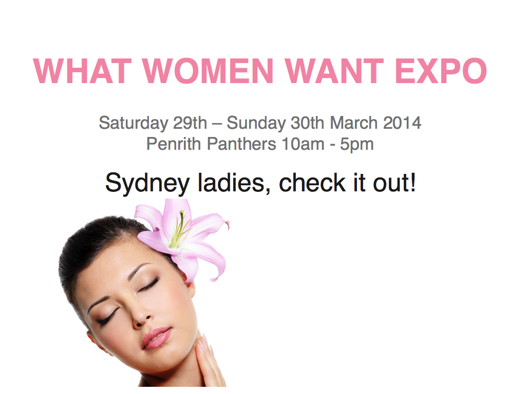 Back to my roots! – What Women Want Expo